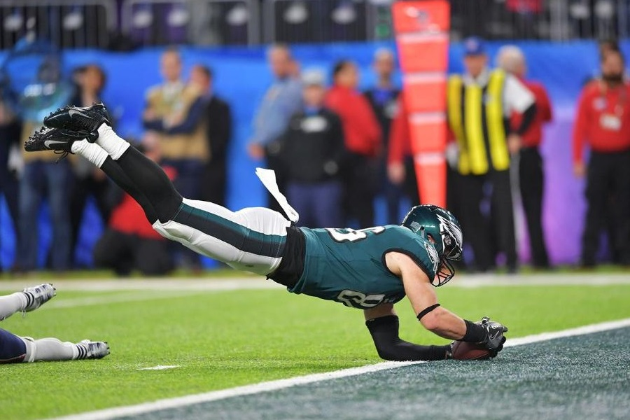 Zach Ertz touchdown