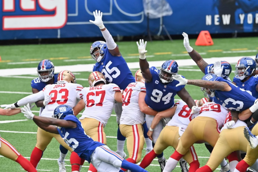 Giants vs. 49ers